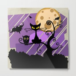 witching hour Metal Print