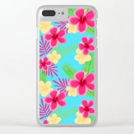 05 Hawaiian Shirt Clear iPhone Case