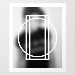 Don't Think 02 Art Print