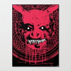 SWINE'R Canvas Print