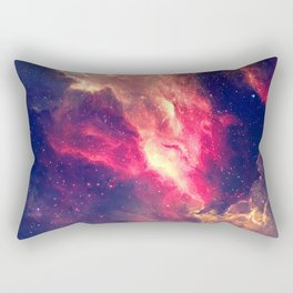 The Sky is on Fire Rectangular Pillow