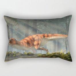 Carnotaurus in a Forest Rectangular Pillow