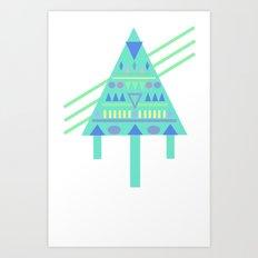 Tri∆nalog Art Print