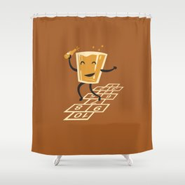 Hop-Scotch Shower Curtain