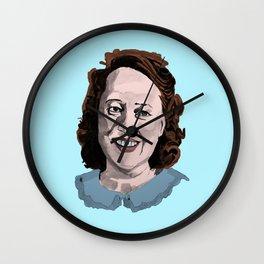 Happy Annie Wilkes - Misery  (Blue) Wall Clock