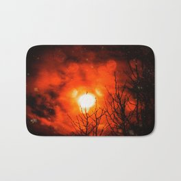 Burning Moon Bath Mat