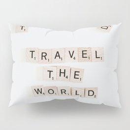 Travel the world Pillow Sham
