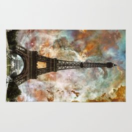 The Eiffel Tower - Paris France Art By Sharon Cummings Rug