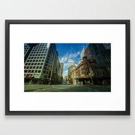 George x Bridge Street (Sydney, 2014) Framed Art Print