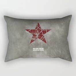 Codename Winter Soldier Rectangular Pillow