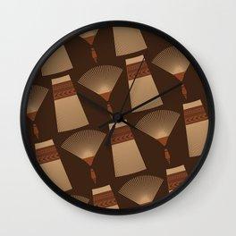 UrbanNesian Tongan Helu (Tongan Comb) Wall Clock