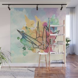 Sundara Dreams with Clouds Wall Mural