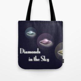 Diamonds in the Sky Tote Bag