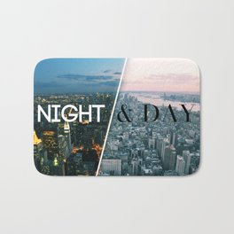 NIGHT & DAY Bath Mat