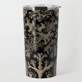 """""""Lichenes"""" from """"Art Forms of Nature"""" by Ernst Haeckel Travel Mug"""