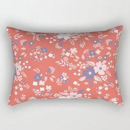 Wild Flowers II Rectangular Pillow