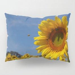 Summer Sunflower Soloist with backup chorus Pillow Sham
