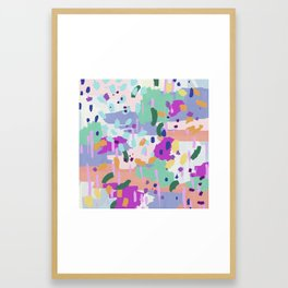 Oil Abstract I Framed Art Print
