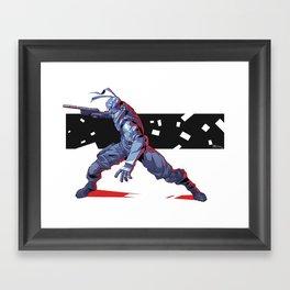 Solid Snake Framed Art Print