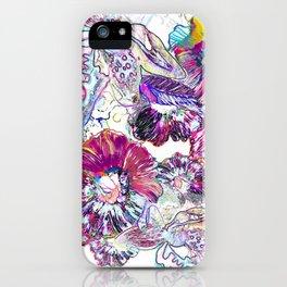 Line Flower iPhone Case