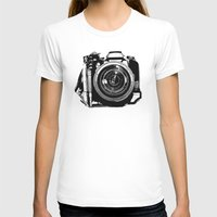camera T-shirts featuring Camera by Luisa Mähringer