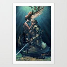 Kiss of Life Art Print