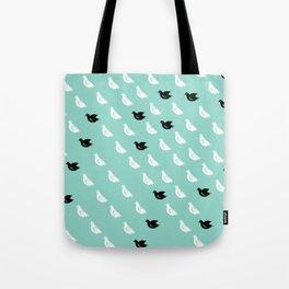 Flock of pigeons Tote Bag