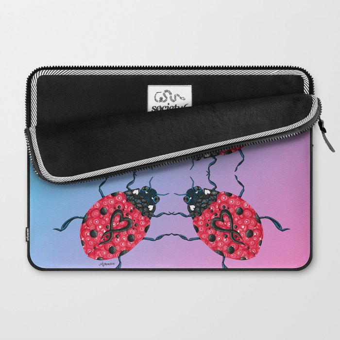 Love Bug Laptop Sleeve