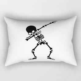 Dabbing skeleton (Dab) Rectangular Pillow