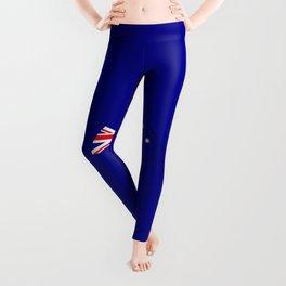 Minimal Australian Flag Leggings