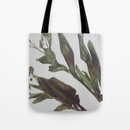 Flowing Lovely Floral Tote Bag
