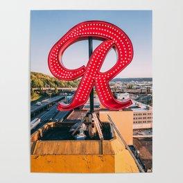 "Rainier ""R"" Poster"