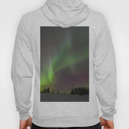 Winter Aurora Borealis Hoody