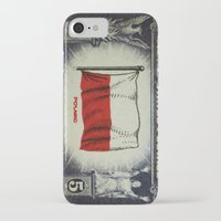 poland iPhone & iPod Cases featuring Flag of Poland by lanjee