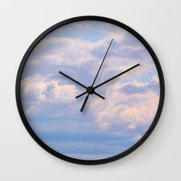 Cloud 9 Wall Clock