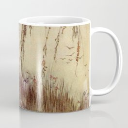 Beauty Had A Brave Heart By Edmund Dulac Coffee Mug
