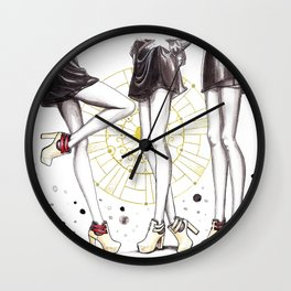 CL shoes 03 Wall Clock