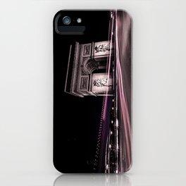 Arc de triomphe Paris France iPhone Case