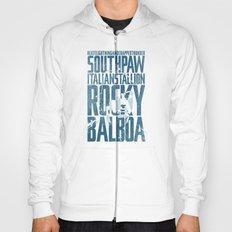 Rocky Balboa Minimal Vector Film Poster Hoody