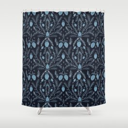 Fir and Rosemary Shower Curtain