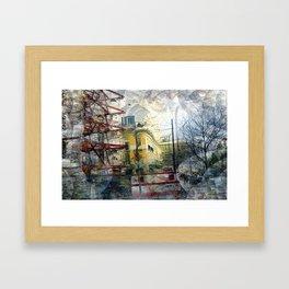 Tuesday 29 January 2013: intemporal jetsam keepsake lucidity Framed Art Print