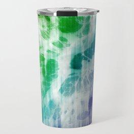 Retro, Boho Chic Tye-Dye Pattern Travel Mug