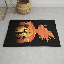 Goku Sunset Rug