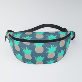 Pineapples (Prussian Blue) Fanny Pack