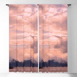 Rose Quartz Over Hope Valley Blackout Curtain