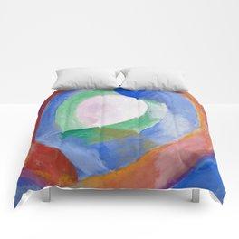 "Robert Delaunay ""Formes circulaires; lune no. 1"" Comforters"