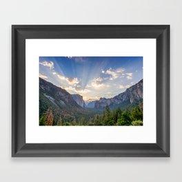 Yosemite Sunrise Framed Art Print