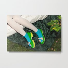 I've been waiting for you the whole week. It's time to play Metal Print
