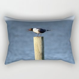 Ocracoke Seagull 3 Rectangular Pillow