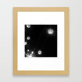 Black&White@Night  Framed Art Print